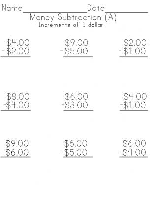 math worksheet : math worksheets made fun with printable worksheets : Subtraction Money Worksheets
