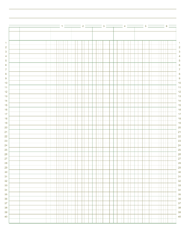 printable blank ledger sheet Quotes