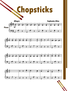 Free printable piano sheets